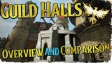 GUILD HALLS! | A Complete Pre-Alpha Overview and Comparison | Ashes of Creation