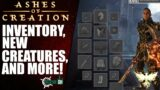 Ashes of Creation – First Look at Inventory Concept, New Creatures and More! (Live Stream Breakdown)
