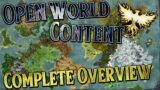 Ashes of Creation: Open World Content Complete Overview