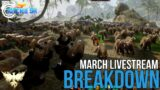 Ashes of Creation MMORPG – March Livestream Breakdown!