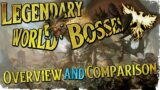 LEGENDARY WORLD BOSSES | An Overview and Comparison | Ashes of Creation