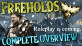 Ashes of Creation: Freeholds Complete Overview